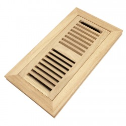 oak floor register