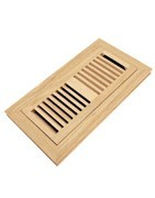 wood floor register for your home decoration